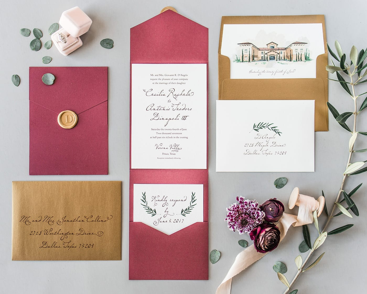 Illustrated creative wedding invitations illustratedweddings elegant hand drawn illustrations for luxurious weddings monicamarmolfo Image collections